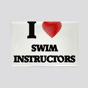 I love Swim Instructors Magnets